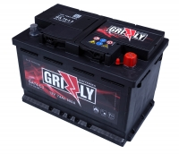АКУМУЛАТОР GRIZZLY  12V74Ah 680A R+