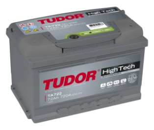 Акумулатор TUDOR High Tech 12V72Ah 720A R+